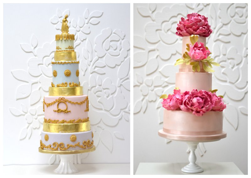 Marie Antoinette Gold Leaf Wedding Cake Rosalind Miller Cakes Best Wedding Cake Designer The Wedding Industry Awards