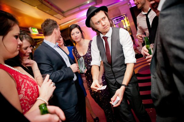 Darren Campbell Magician Best Wedding Entertainment The Wedding Industry Awards_004