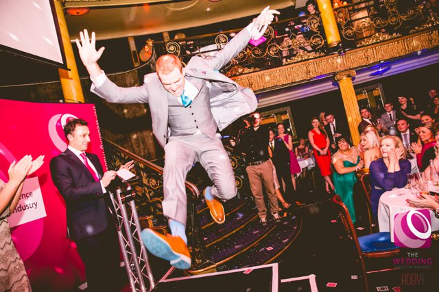 Sam Fitton Magician Best Wedding Entertainment The Wedding Industry Awards 2015_0001