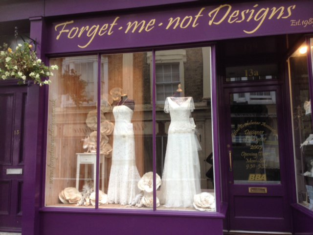 Forget Me Not Designs Best Dressmaker Designer The Wedding Industry Awards 2015_0001